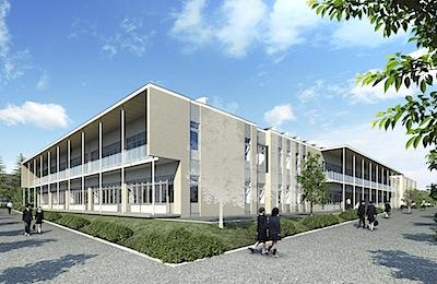 2013/09/01 14:07/山辺町立山辺中学校が着工しました!
