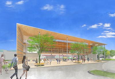 「真室川町新庁舎建設事業基本設計業務」の画像