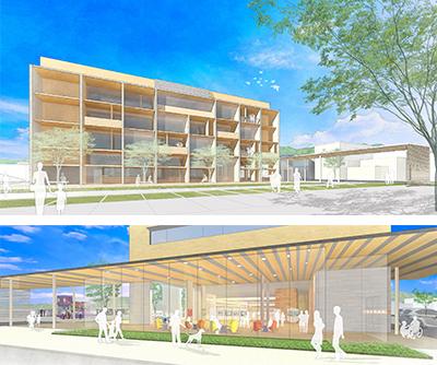 「河北町新庁舎建設事業基本設計業務」の画像