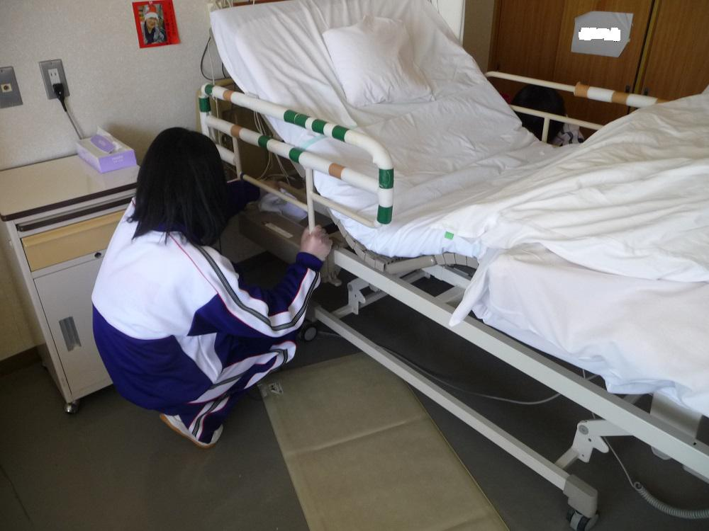 九里学園の皆さんがボランティアに来て下さいました