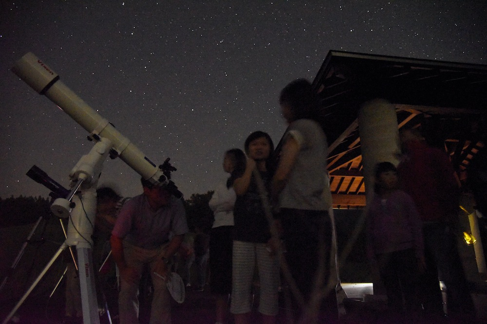 星空観察:画像