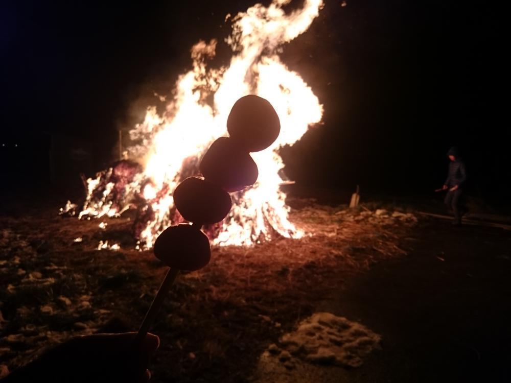 城燃える 玉こんにゃくの 影映る