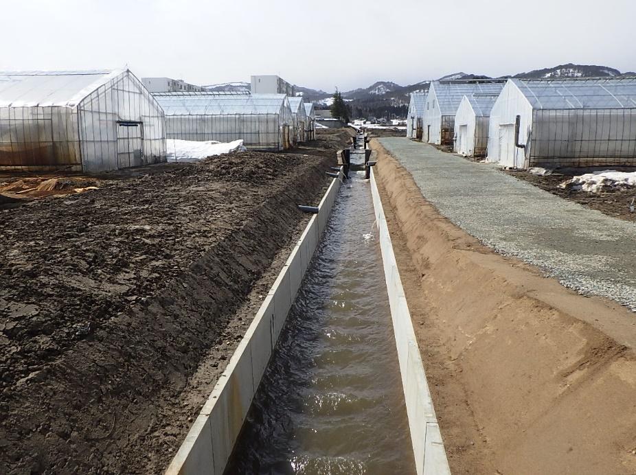 萩生地区農村地域防災減災事業(用排水設備)第1工区工事:画像