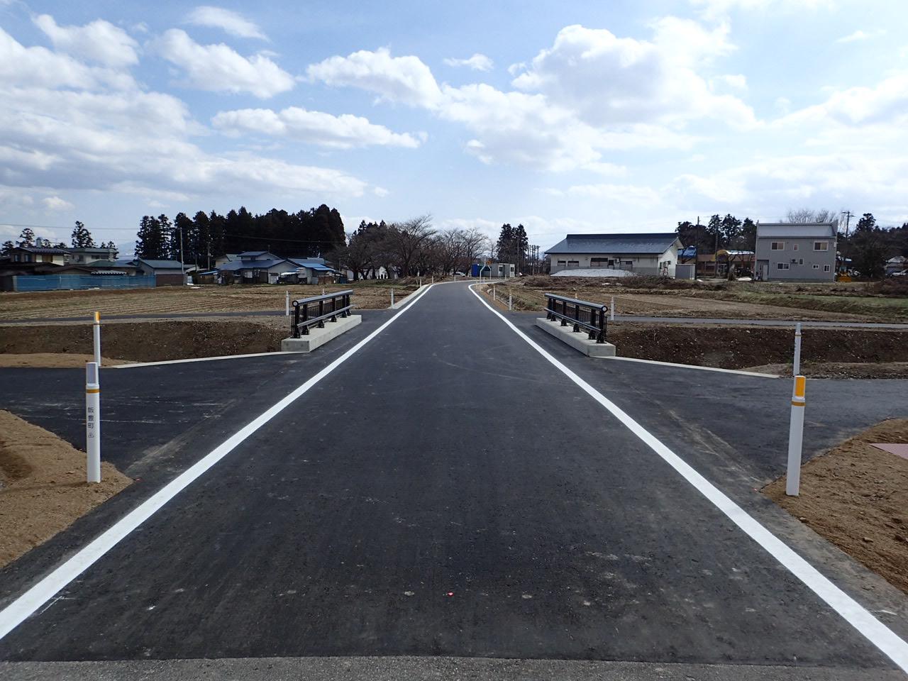 町道原南線道路改良工事:画像
