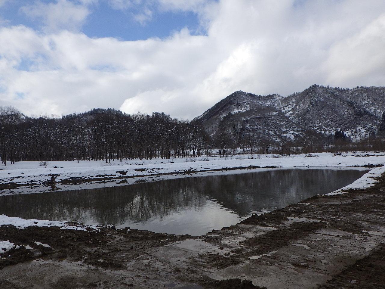 白川ダム維持工事:画像