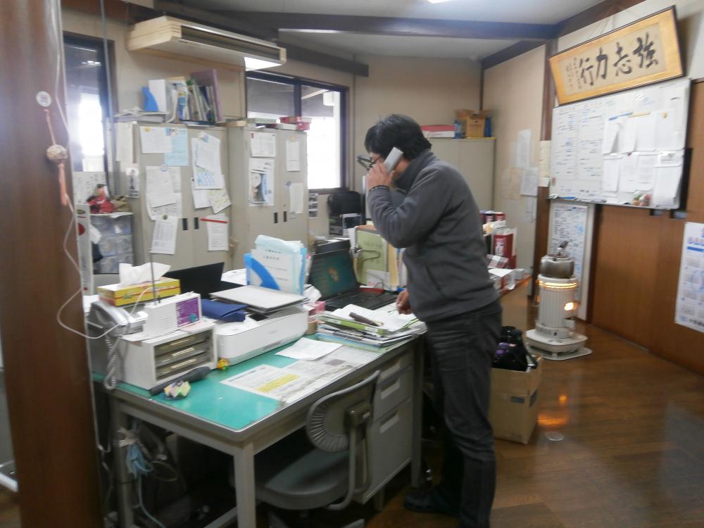 3月15日火災避難訓練実施!
