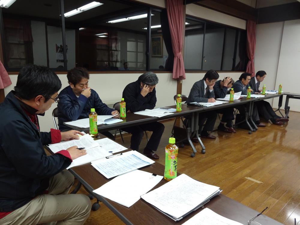 4月12日平成28年度長井市平野地区公民館運営協議会開催