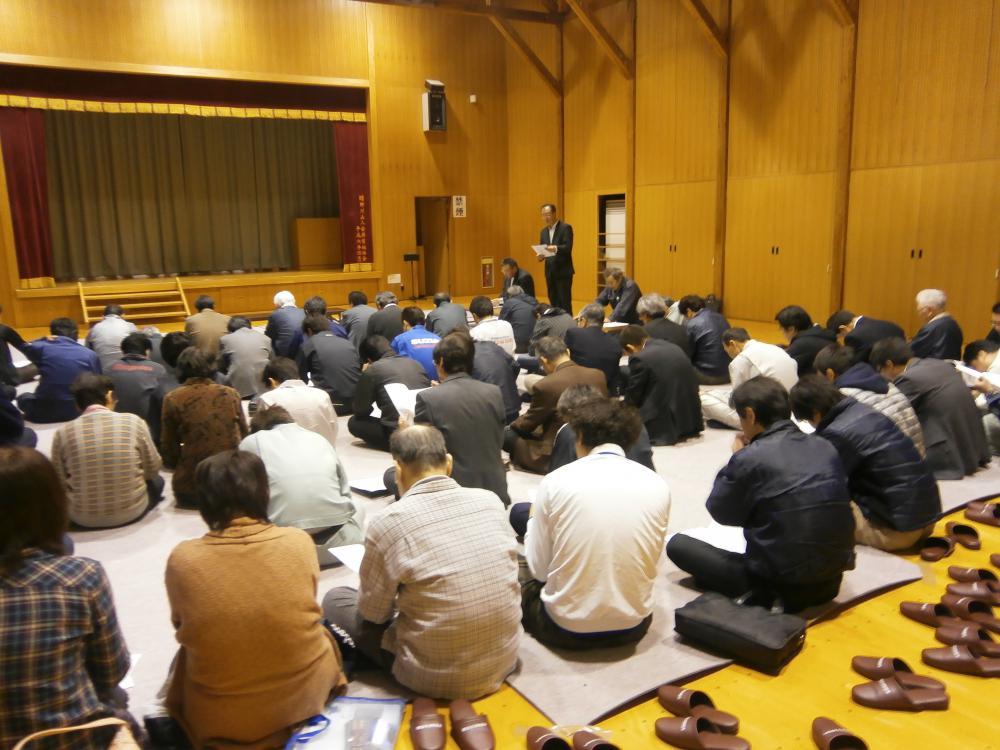 4月19日 平野地区公民館運営協議会・専門部・地域づくり協議会合同会議