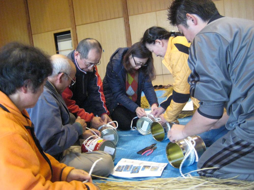12月4日 門松作り開催