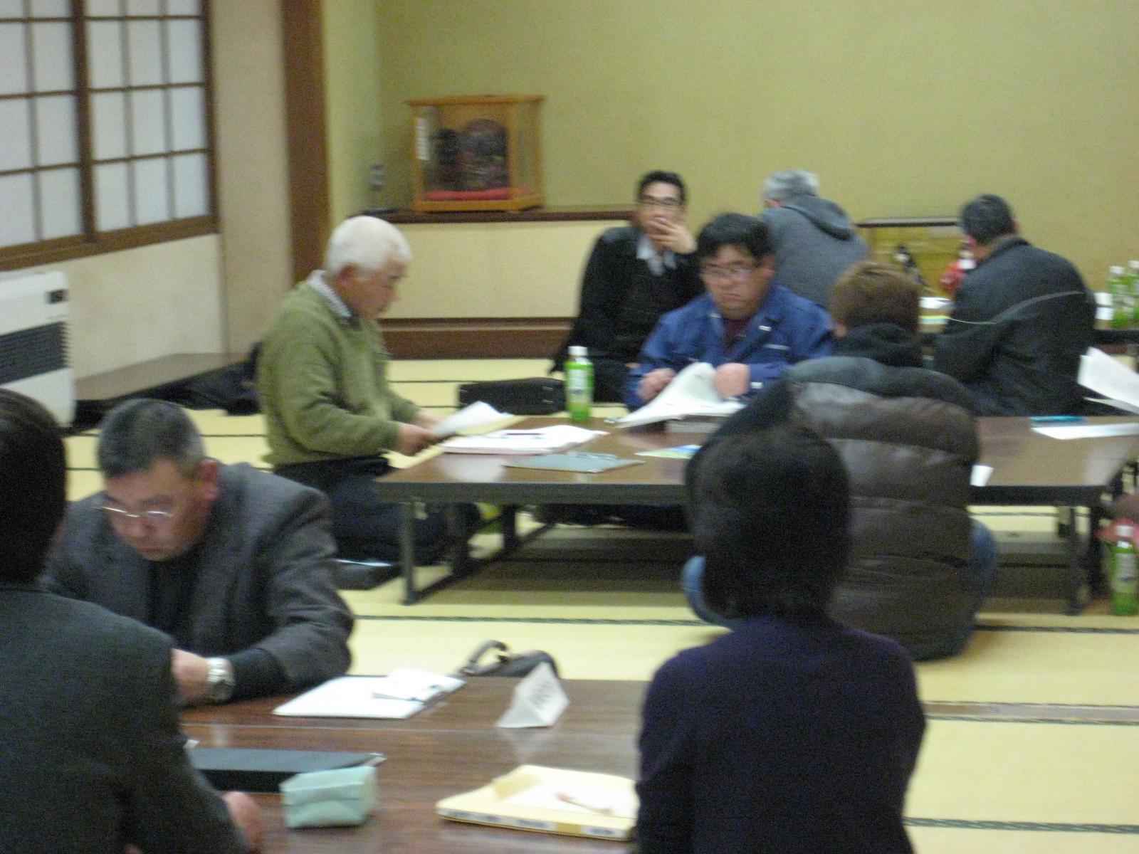 3月13日地域づくり協議会全体会・部会