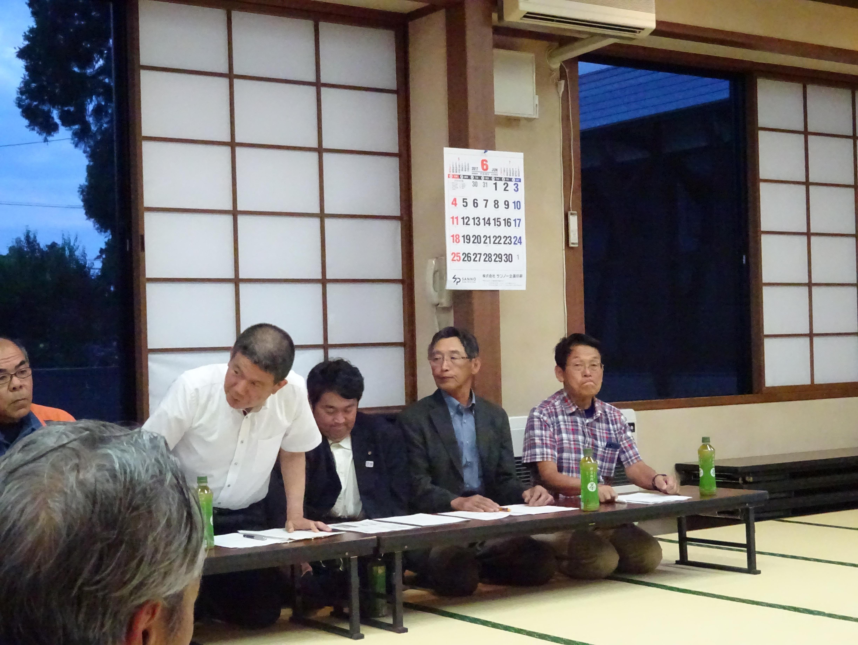 6月15日平野地区安全推進連絡協議会総会