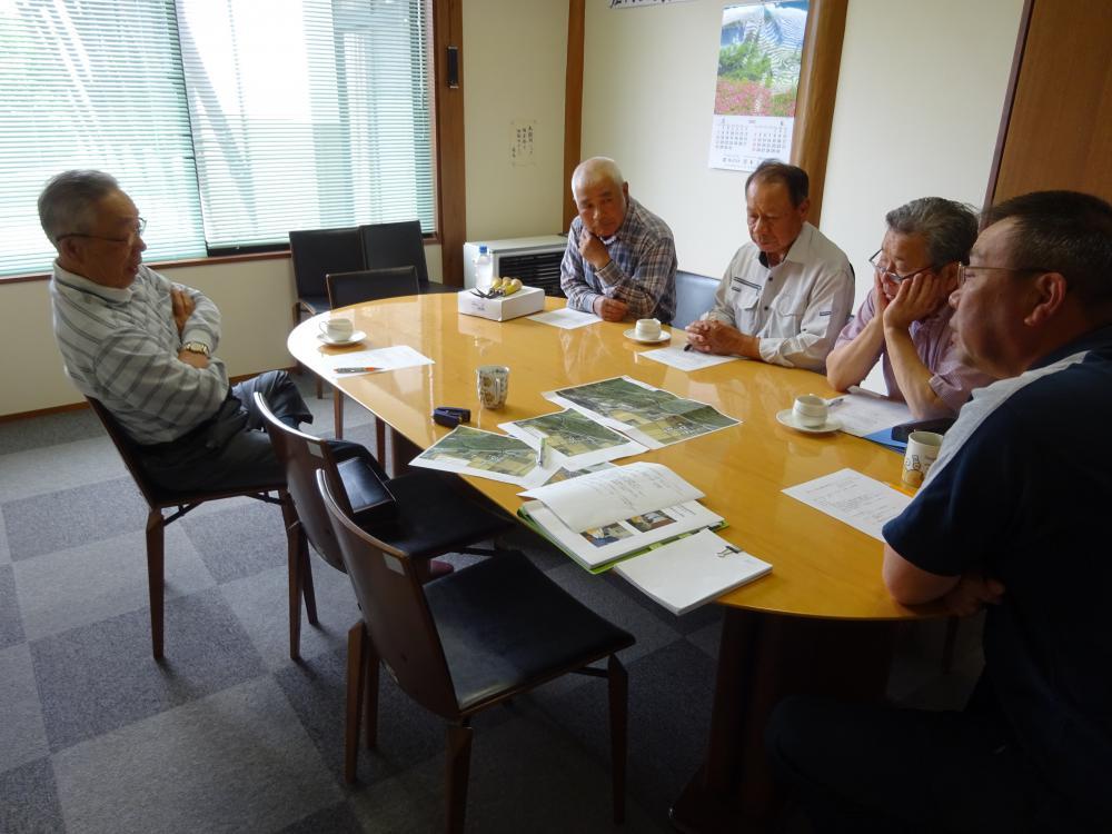 6月27日締切堤防復元整備プロジェクト打合会