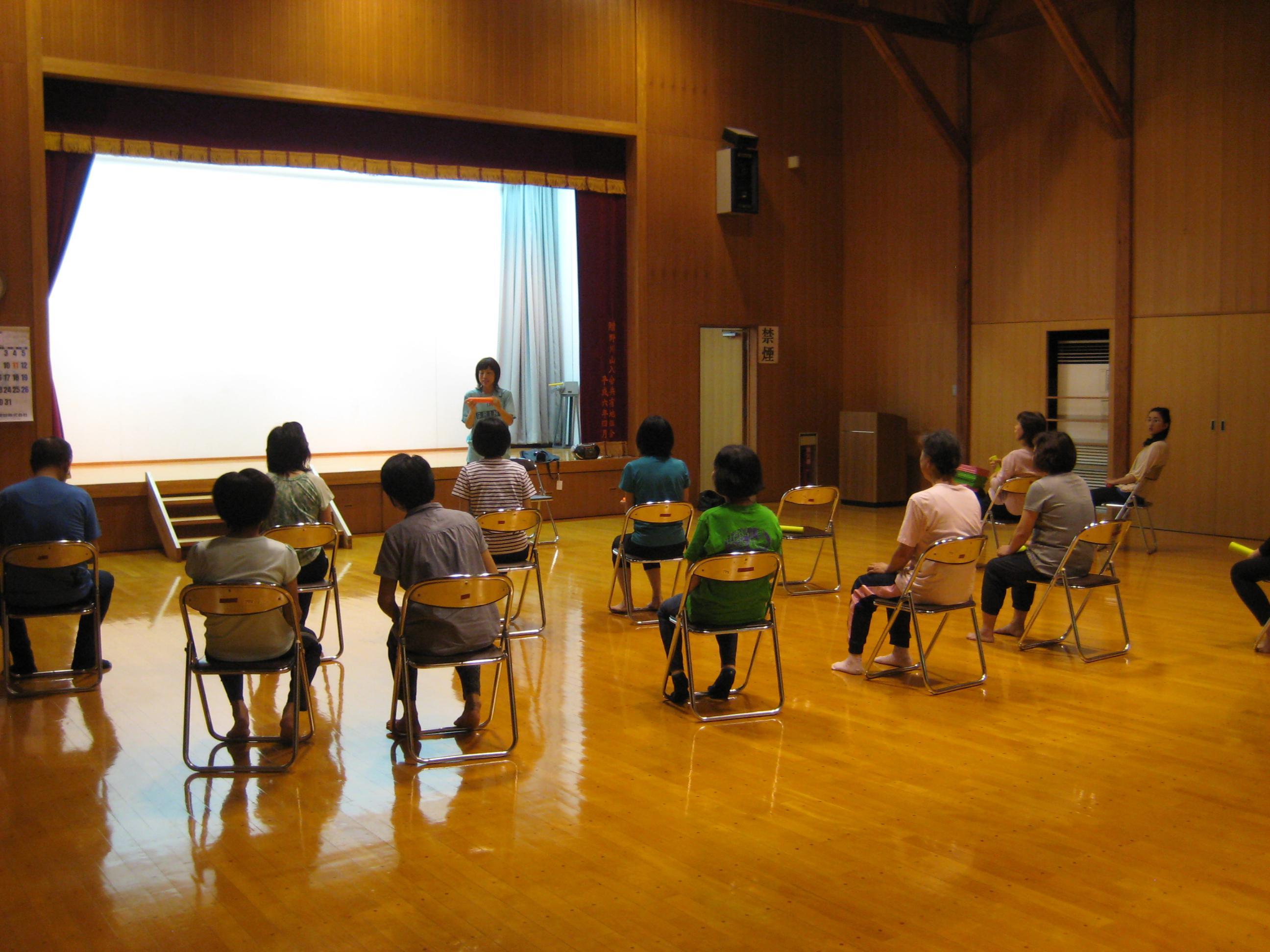 8月25日 ストレッチ教室