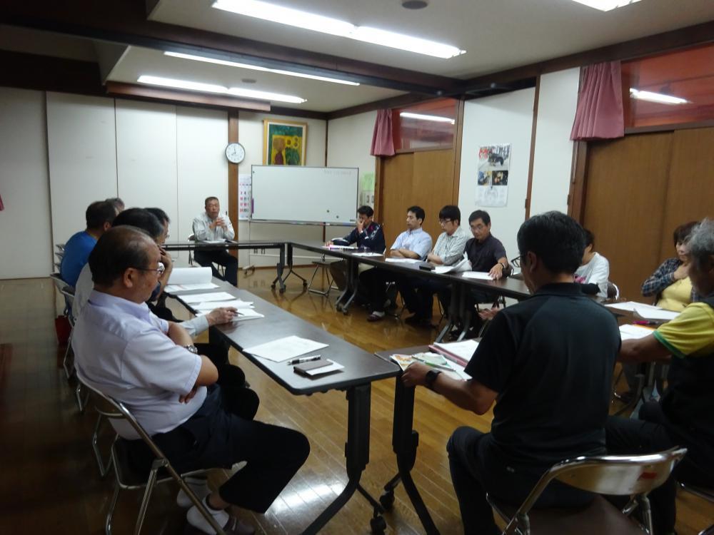 9月7日 コミュニティセンター移行作業部会