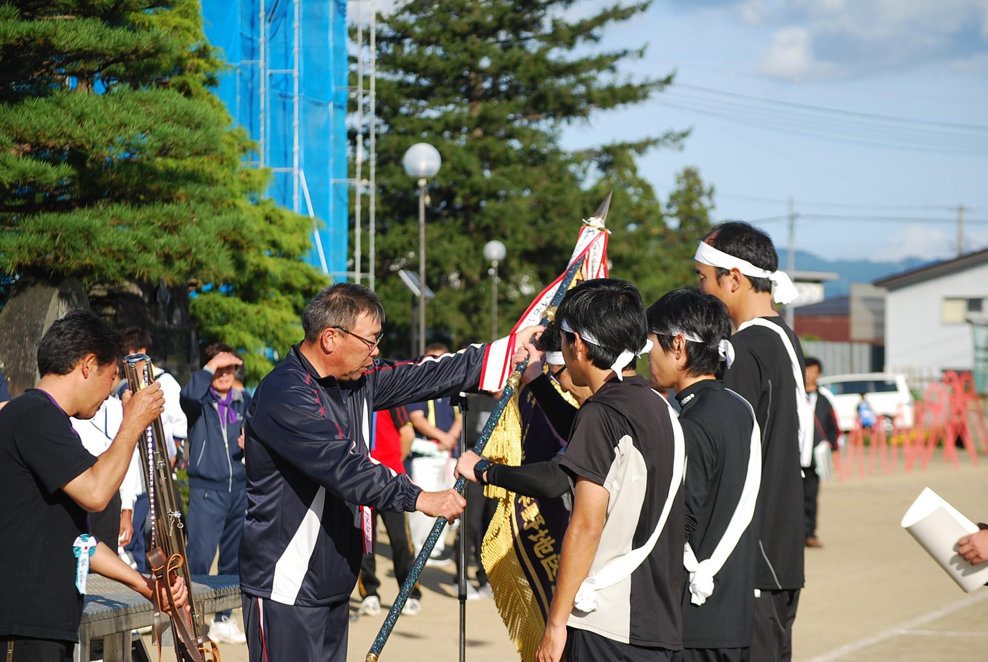 10月8日第67回平野地区民ふれあい運動会開催