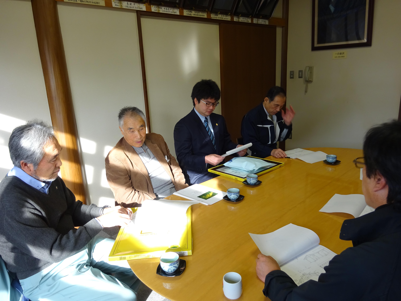12月6日東屋完成報告会