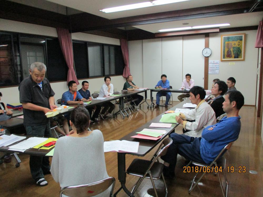 6月4日 ビーチ・ソフトボール大会監督会