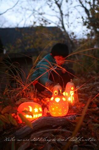 かぼちゃランタンで小人の村づくり  11/4空きあり/