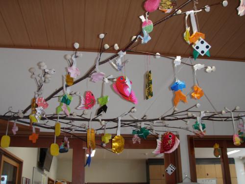 だんごの木飾り