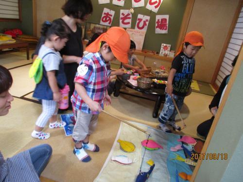 年少組、二歳児クラス 親子遠足