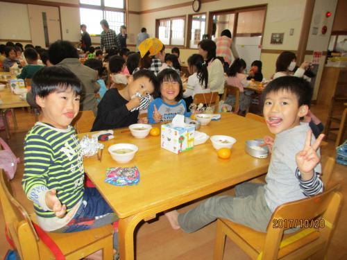 子ども芋煮会