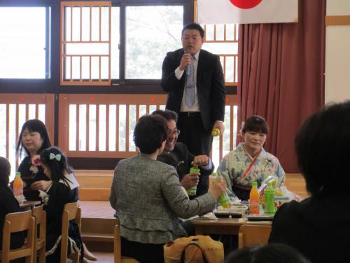 卒園式 茶話会