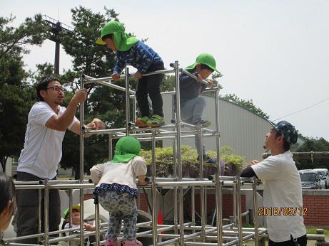 保育参加(年少組)