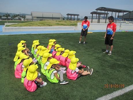 モンテディオ山形の選手にサッカーを教えてもらったよ!/