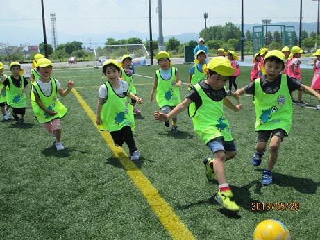 モンテディオ山形の選手にサッカーを教えてもらったよ!