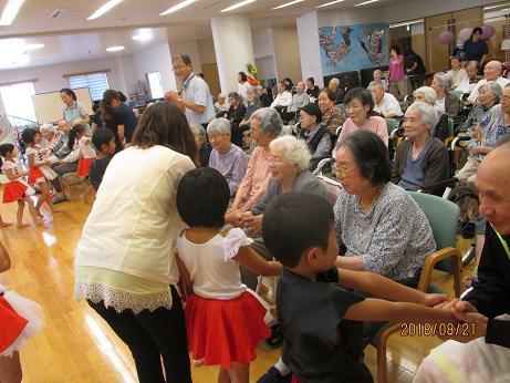 「サンファミリア米沢」さんのおじいちゃん、おばあちゃんに会いに行きました。