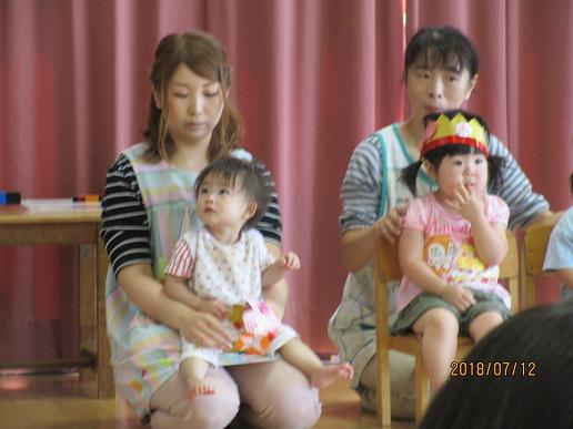9月生まれの誕生会