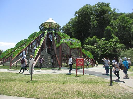 楽しかった!親子バス遠足(年中組・年長組)