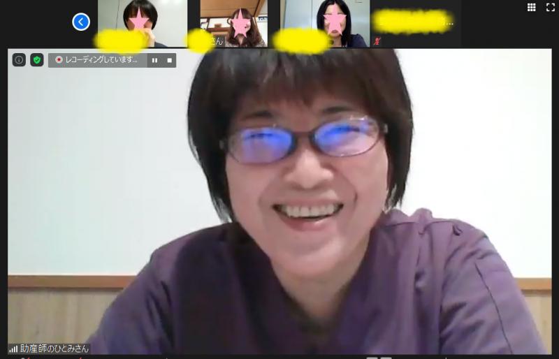 オンライン助産師相談を開催しました!:画像
