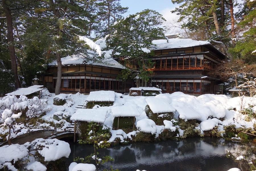 雪景色をお楽しみ下さい。