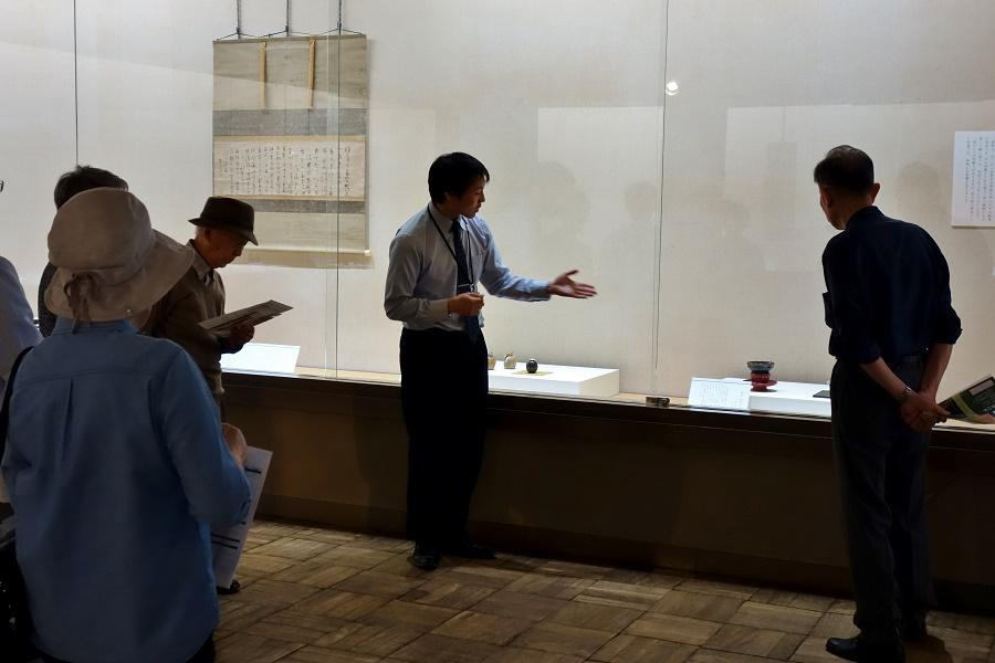 【報告】5.22 学芸員のギャラリートーク