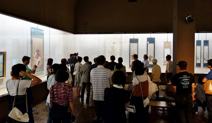 【報告】館長のギャラリートーク「戦没画家 岡部敏也の芸術」