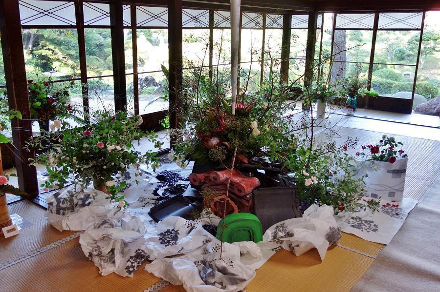 【報告】秘密の花園in本間美術館 魅惑の香るバラ展