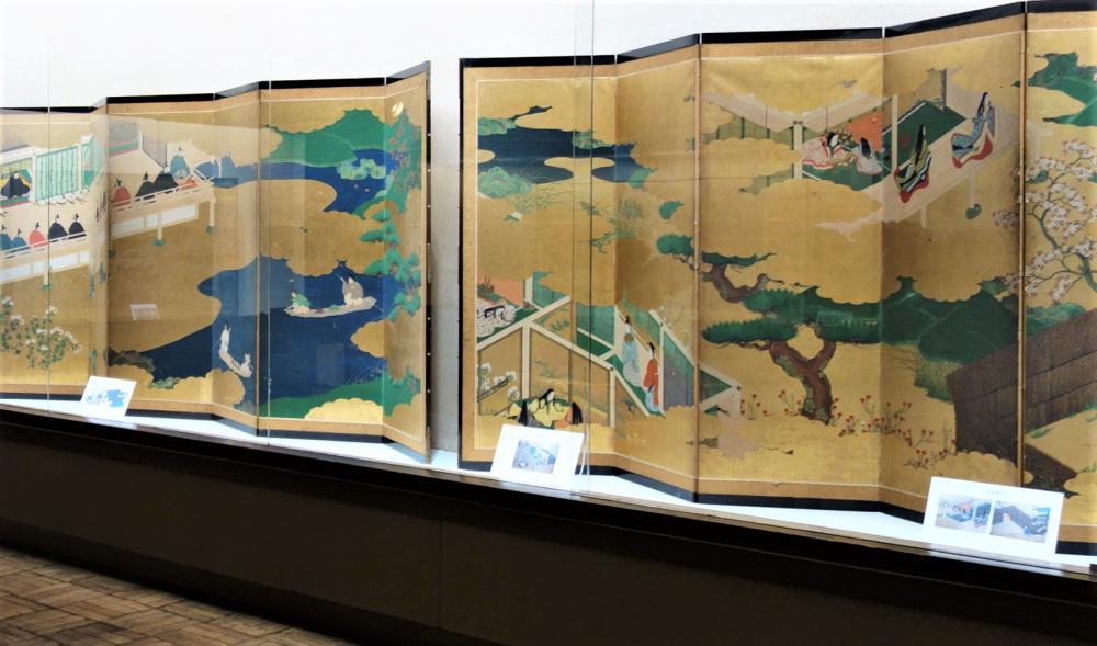 【開催中】大画面で楽しむ日本の美 屏風絵の世界