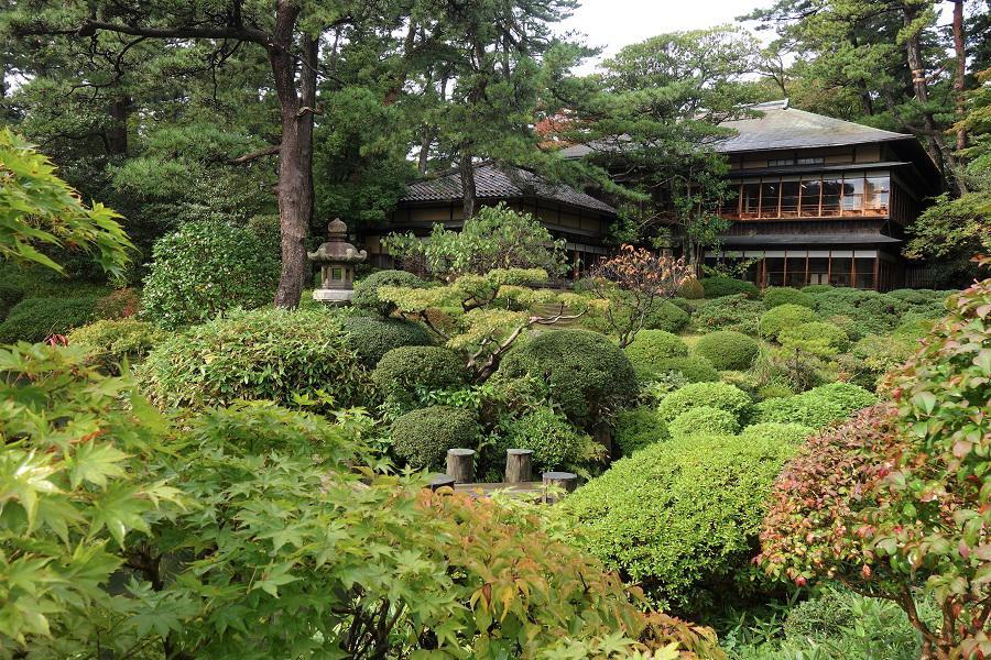 秋の日本庭園:画像