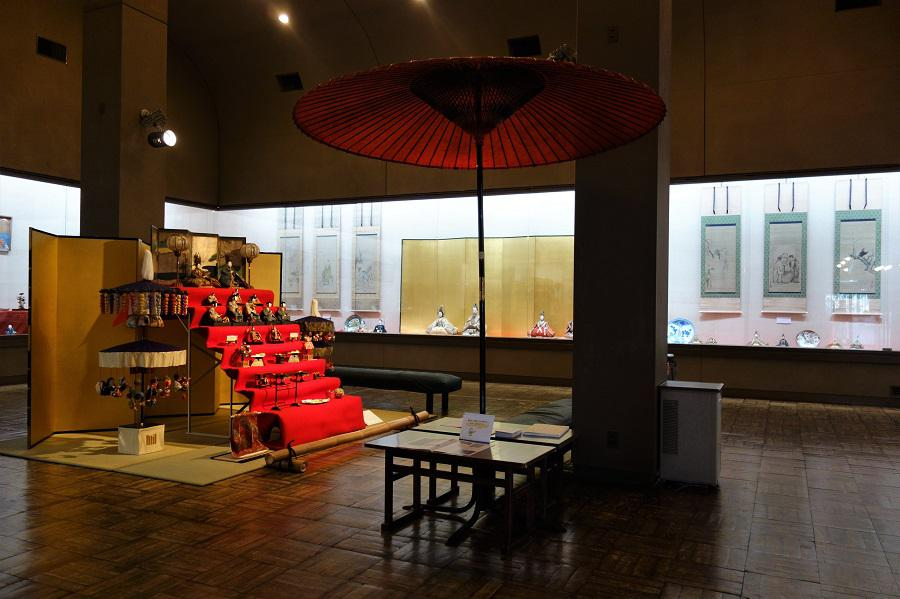 【開催中】北前船が伝えた華 雛祭 古典人形展