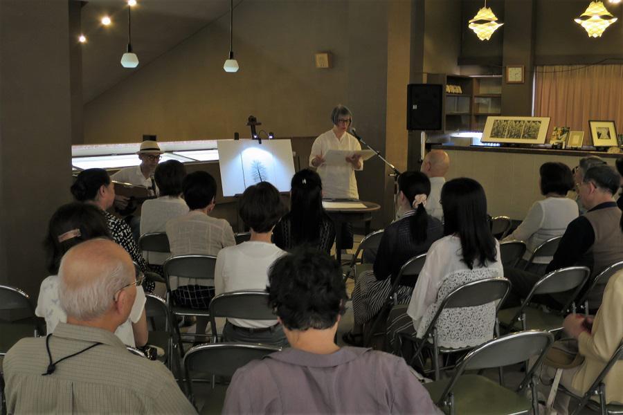 【報告】木村茂さんの作品と吉野弘さんの詩を楽しむ会