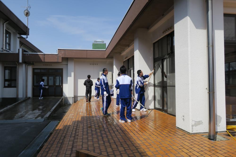 九里学園高等学校1年3組 ボランティア♪