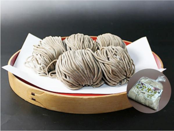 鴨つけ蕎麦 5食(5食×1袋/つゆ付):画像
