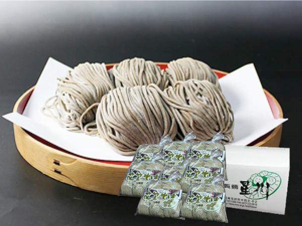 鴨つけ蕎麦まとめ買50(5食×10袋/つゆ付):画像