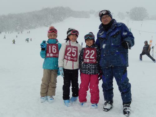 スキー がんばりましたよ!