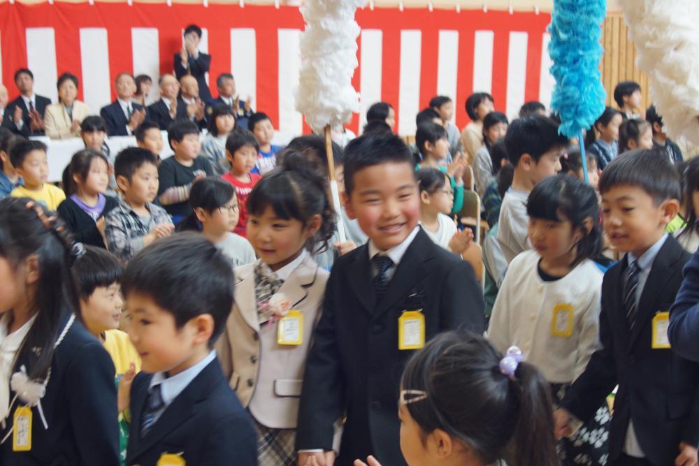 ピカピカの1年生が入学しました。