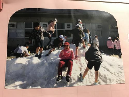 雪の配達人