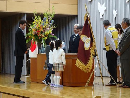 祝 ご入学! ピカピカの1年生
