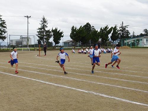 町小学校陸上競技大会