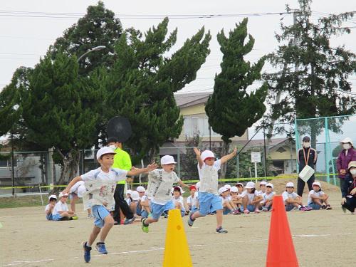 第一小学校陸上記録会3 技巧走